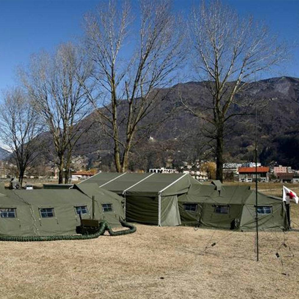 Mobile Sanitätshilfsstelle (San Hist) der Schweizer Armee